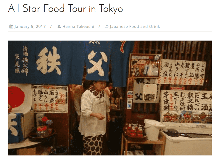 True Taste Tokyo explores the All Star Tour with Arigato Japan