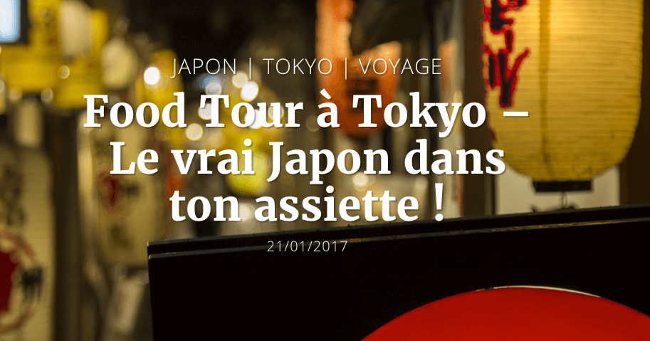WorldWildBrice French Travel Blog on an Arigato Japan Food Tour