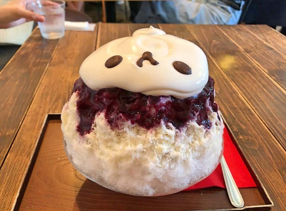 Panda Kakigori Tokyo